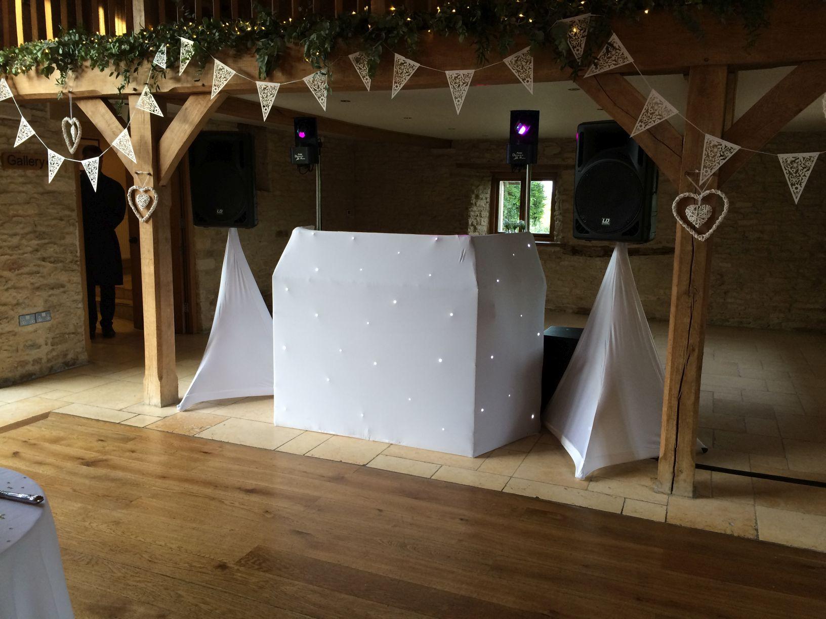 The Wedding Players Kingscote Barn
